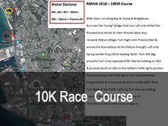 10 km Rennstrecke
