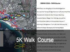 Corso di 5 km a piedi