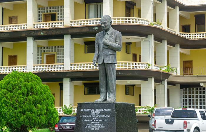 Grantley Adams Statue