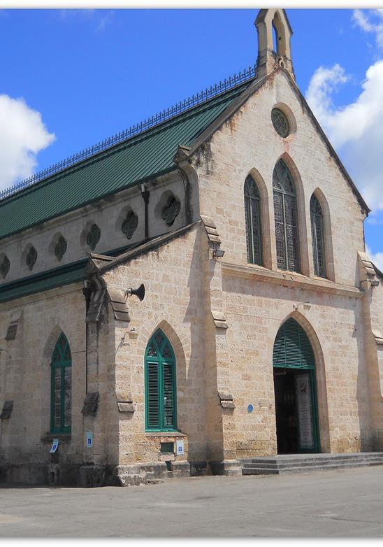 Religión en Bridgetown - Sitios del Patrimonio Mundial de la UNESCO