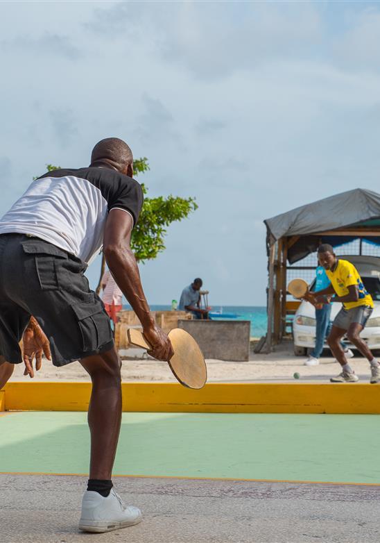 The Bajan Game of Road Tennis