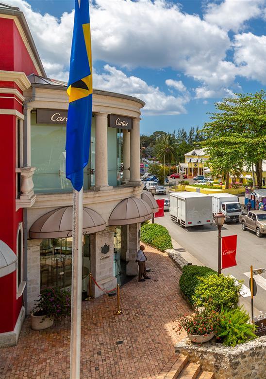 Sol, mar, areia ... Ah, e compras - compras de luxo em Barbados!