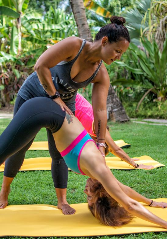 Yoga - Paz en el paraíso