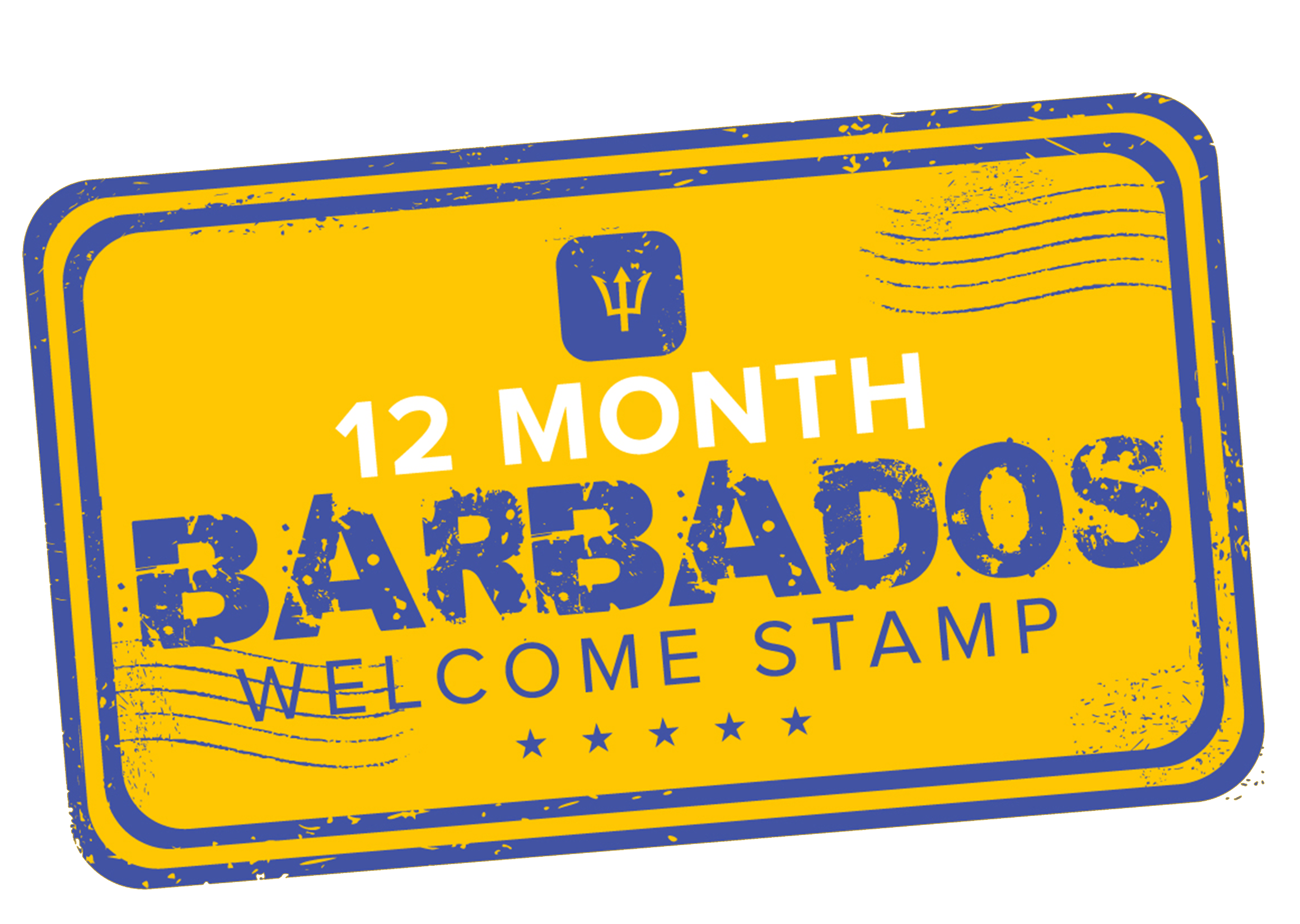 BARBADOS WELCOME STAMP 2020