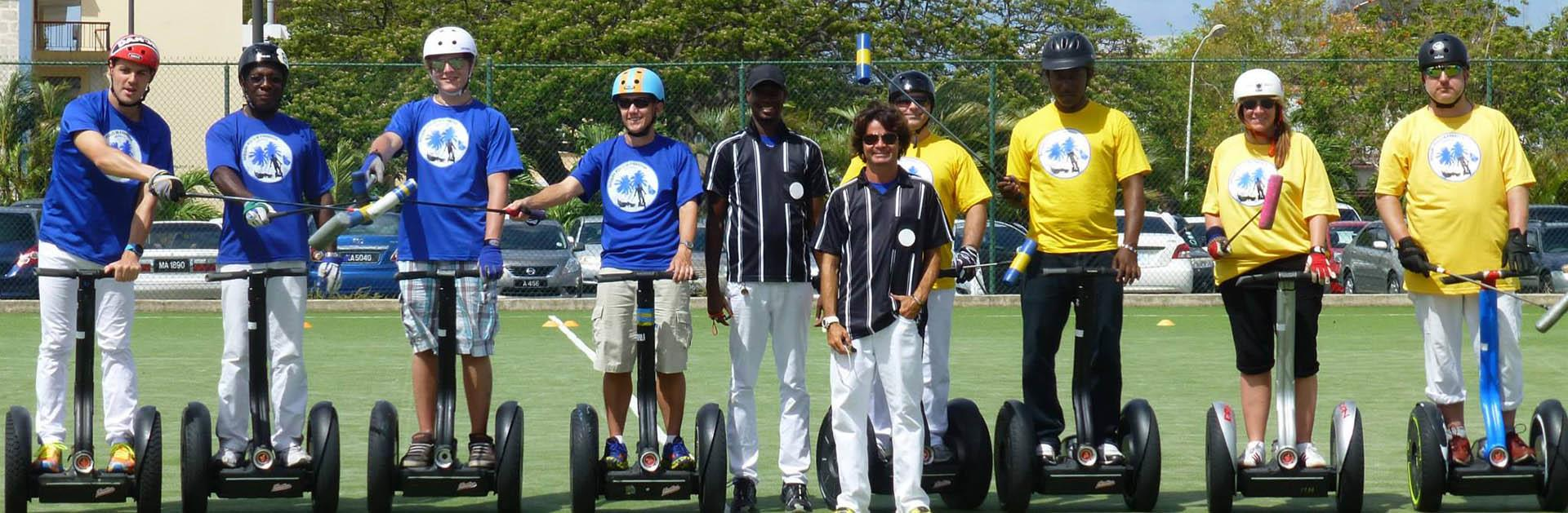 Segway Polo in Paradise