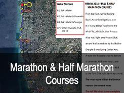 Marathon- und Halbmarathonkurse