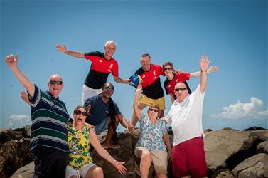 Liverpool FC Legends auf Barbados
