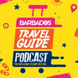 Barbados välkomststämpel - Digital Nomad Podcast Series