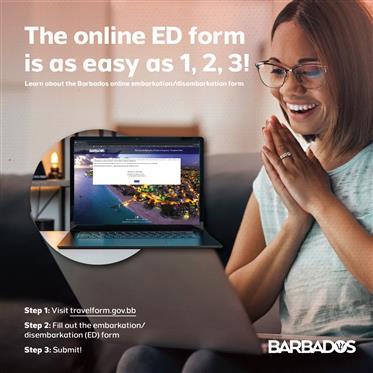 Barbados Online ED-kort